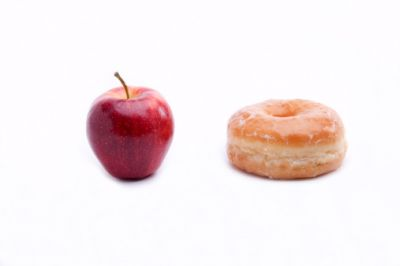 Apple or Doughnut